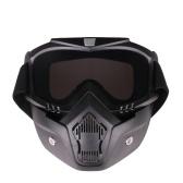 Occhiali tattici della maschera del paese trasversale del motociclo
