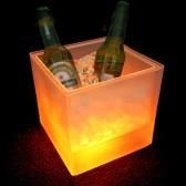 3.5 l precioso color que cambia la luz del cubo de hielo