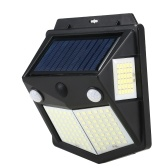 160 LEDs IP65 Solar Energy Dual Induction Human Induction Four-sided Light(1 Induction Mode)
