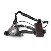 LED Chest Running Light 3 tryby Akumulator 800LM do polowania Jogging Turystyka Sport na świeżym powietrzu