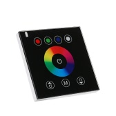 LED Glass Touch Panel RGBW Dimmer Controller