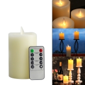 Flameless Electric LED Candle Light con control remoto