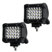 Lámpara LED Quad-row LED Spot Beam para conducción fuera de carretera