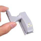 Lâmpada do armário da luz da dobradiça do sensor do diodo emissor de luz 1Pcs