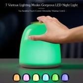 Colorful RGB 7 Different Lighting Modes Night Light 12 LED Desk Lamp