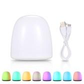 Цветной RGB 7 различных режимов освещения Ночной свет 12 светодиодных настольных ламп