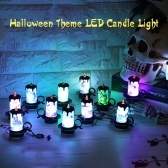 12PCS Multi-color Changing LED Electronic Candle Light
