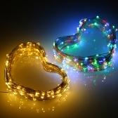 1.2W 2M / 6.6Ft 20 LEDs Zasilane energią słoneczną Energia drut miedziany Fairy String Light