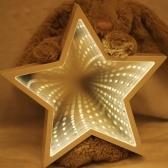 Światło chmurze Night Light 3D illusion LED Lamp Tunnel Light (Star)