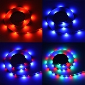 DC5V 0.3W 0.5M 30 LED RGB Strip Light con Control Remoto