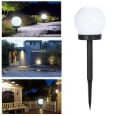 2Pcs LED Solar Energy Powered Bulb Lamp