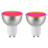 AC85-265V 4Pack 6W RGBW WIFI angeschlossene intelligente Glühlampe