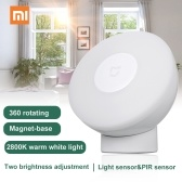 Xiaomi LEDs LEDs Induction Night Light 360 Degree Intelligent Human Body Sensor Adjustable Brightness