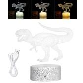 3D Dinosaurier Nachtlicht 3D Led Illusion Lampe