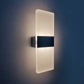 AC 85-265V 6W Arandela de Parede Moderna Acima Para Baixo Lâmpada LEDs Acrílicos Luzes Montadas Na Parede Iluminação Interior