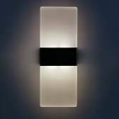 AC 85-265V 6W Modern Wall Sconce Up Down Lamp Acrylic LEDs Wall Mounted Lights Indoor Lighting