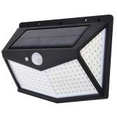 212L-ED Солнечный настенный светильник Датчик движения IP65 Водонепроницаемый 3 режима Открытый сад крыльцо уличный свет