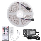 5m 150LEDs 5050RGB Color Changing Rope Light LEDs Strip Lights with IR Remote