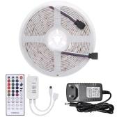5m 150LEDs 5050RGB Luz de cuerda con cambio de color LED Luces de tira con control remoto IR