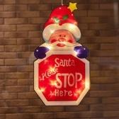 Décoration de mur de fenêtre de fête de fête de fête de fête de Noël avec ventouse