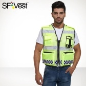 SFVest High Visibility Reflective Safety Vest