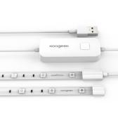 Koogeek 6.6ft 60 LED tira de luz inteligente de Wi-Fi