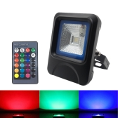 10W RGB LED Flood Light with Remote Control