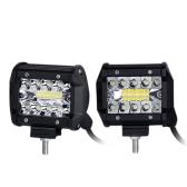 Tri-row LED Spot Beam lámpara de conducción fuera de carretera