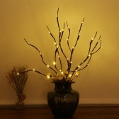 Pack de 2 ramitas Twig Willow con diseño de luz LED