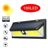 180 LEDs COB Solar Power Lights PIR Motion Sensor Wall Lamp