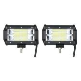 2шт. 72W Автомобильная лампа для работы с лампой 6000K Lighting (луч потока)