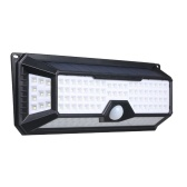 136 LEDs Solar Light PIR Motion Sensor Wall Lamp