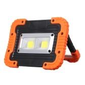 Lampe de travail portable 2 LEDs COB LED Light