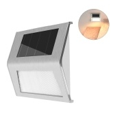 Solar Powered Stair Lights Wall Lamp Solar Step Light