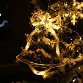 Светодиоды Рождественская фея Подвесной светильник Рождественское окно Настенный декор огни для свадьбы в спальне