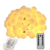 Chaîne alimentée par batterie de Tomshine 10M 80LEDs avec la télécommande