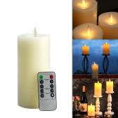 Беспламенное электрическое свеча свечи СИД с дистанционным управлением
