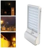 56LEDs водонепроницаемая батарея солнечный пульт дистанционного управления Sense Wall Lamp