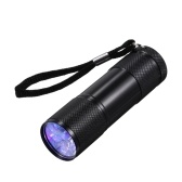9 LEDs Portable Flash Light Pet Moczowe plamy Watermark Cometics Detector