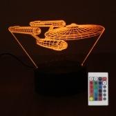 Veilleuse RGB avec 10 LED DC4.5V 5W 3D 10 LED