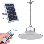 Solar Pendants Ceiling Light with Remote Control Time Setting