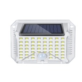 Solar White Wall Lamp IP65 90LED 120° Induction Angle 5-7M Inductive Distance