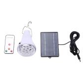 Żarówka LED zasilana energią słoneczną z panelem słonecznym