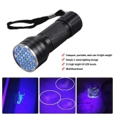 21LEDs UV Portable Flash Light Pet Urine Stains Watermark Cometics Detector