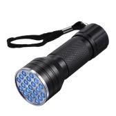 21 LEDs UV Portable Flash Light Pet Urin Flecken Wasserzeichen Cometics Detektor