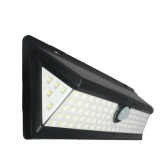 90 LEDs 8W Solar Powered Kinkiet PIR Motion Wall Light