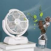 2 in 1 LEDs Fan Light Portable Cooling Fans