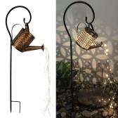 Iron Art Wasserflasche Rasenlicht-Kit Outdoor-Garten wasserdichte solarbetriebene LED-Leuchten Pfaddekoration Pfahllicht