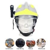 F2 Capacete de Resgate de Emergência Capacetes de Segurança para Bombeiros no Local de Trabalho Proteção Contra Incêndio Capacete Capacete de Proteção Anti-impacto Capacete Resistente ao Calor