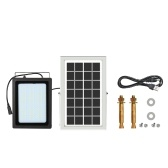 150LEDs USB Solar Powered LED Flood lámpara de luz al aire libre